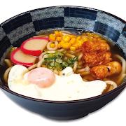 Chikuwa Udon Noodle Soup