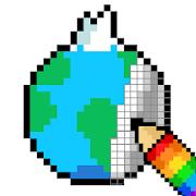 Pixel Art : World travel
