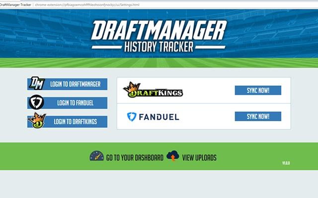 DraftManager Tracker
