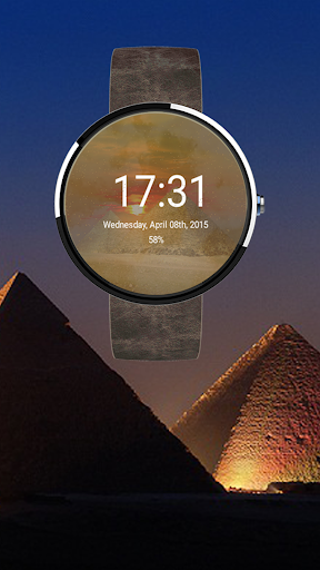Sandstorm of Giza watchface