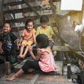 by Faizal Fahmi - Babies & Children Children Candids