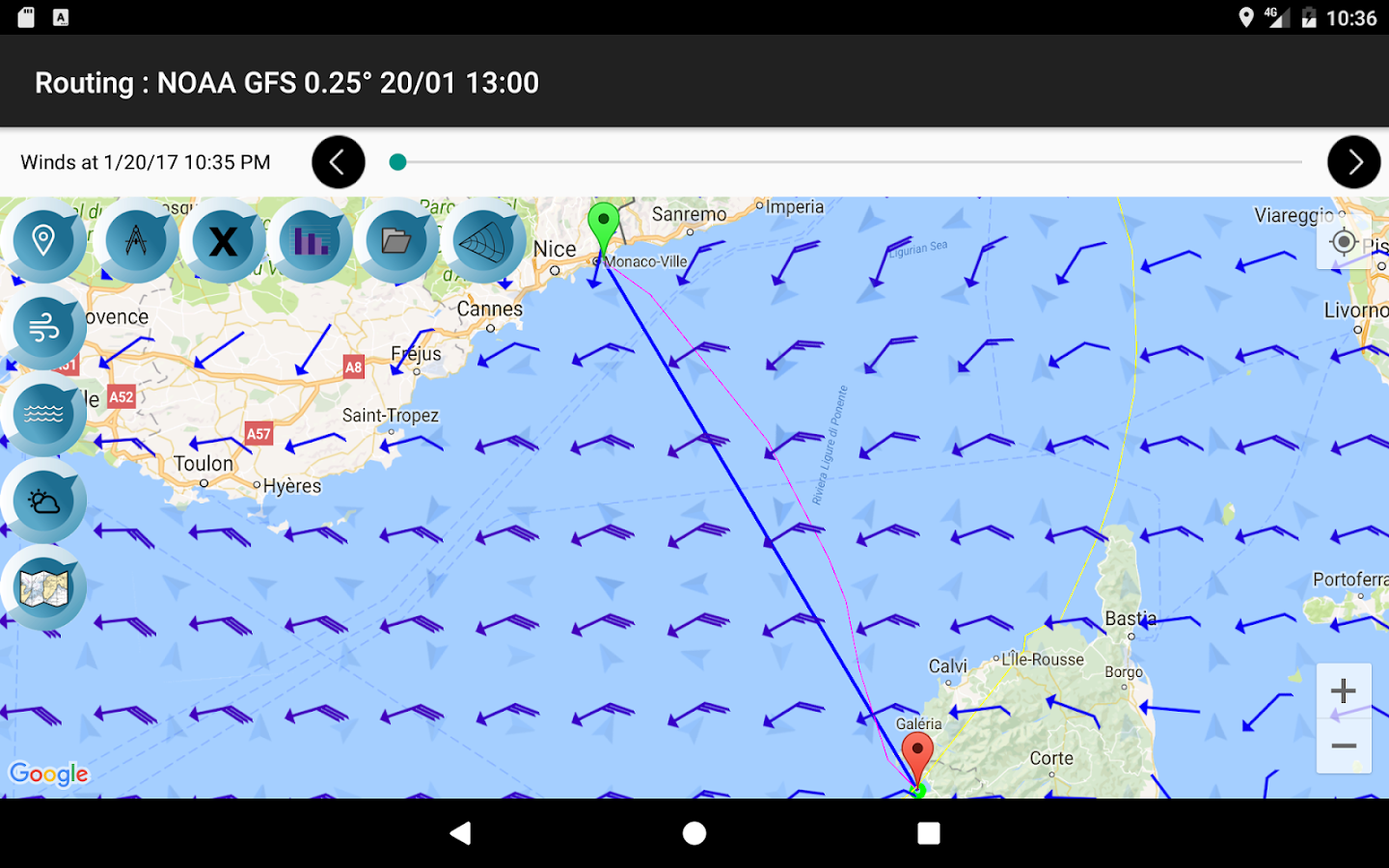 Avalon Router Offshore- screenshot
