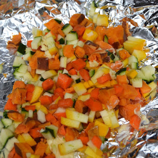 Grilled Vegetable Hash