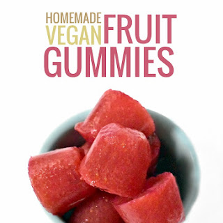 Healthy Gummy Fruit Snacks (using agar)