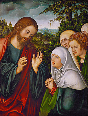 Photo: Christ's Farewell to the Holy Women, c.1520