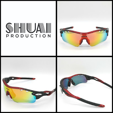 會員HK$399(Red/Black) SHUAI Polarized Sunglasses