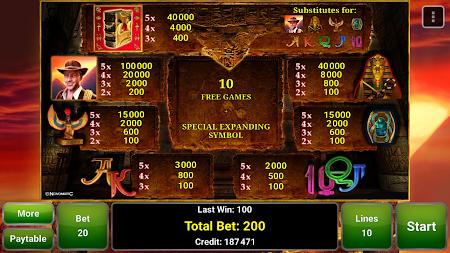 Book of Ra™ Deluxe Slot 2.4 screenshot 363651