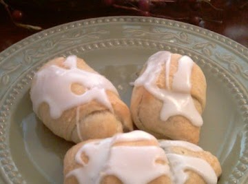 Blueberry Crescent Roll Turnover's Recipe