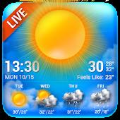 Tải Bluesky Theme Weather Widget APK