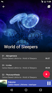 Odyssey Music Player- screenshot thumbnail