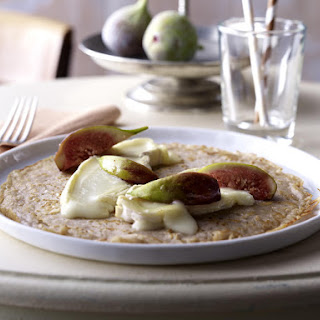 Brie and Fig Pancakes