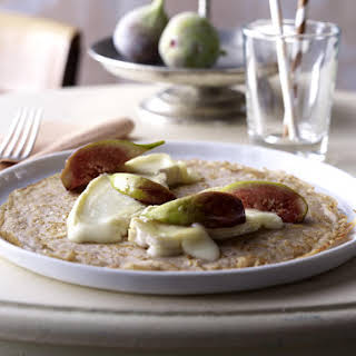 Brie and Fig Pancakes.