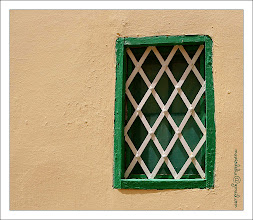 Photo: Green & White Window