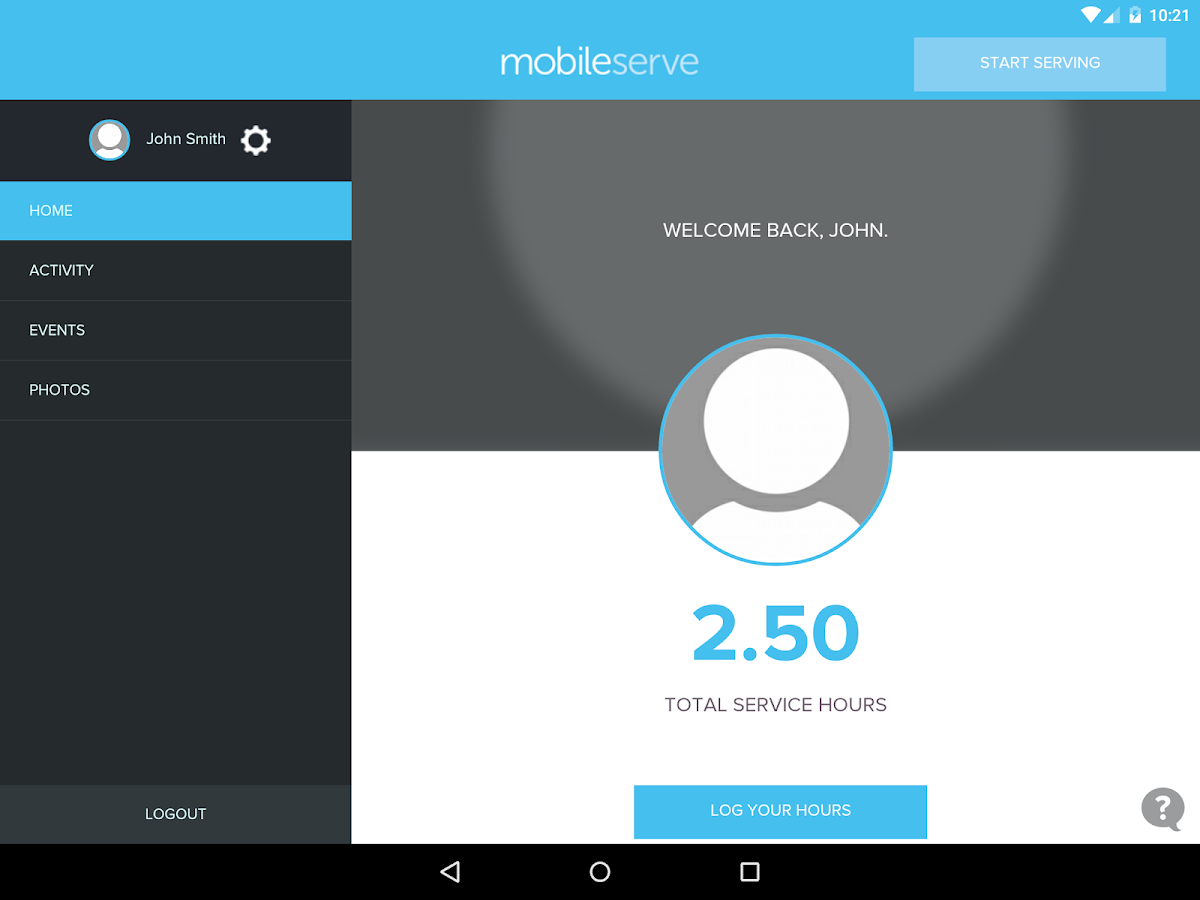 MobileServe- screenshot
