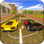 Chained Cars Stunt Driver Race: Luxury Car Games Icon