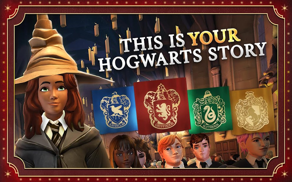Harry Potter: Hogwarts Mystery Android App Screenshot