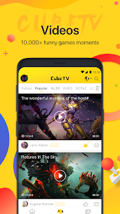 Cube TV - Live Stream Games Community Screenshot