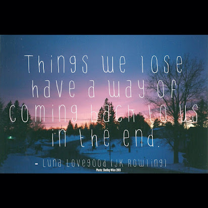 Luna Lovegood Quotes Things We Lose