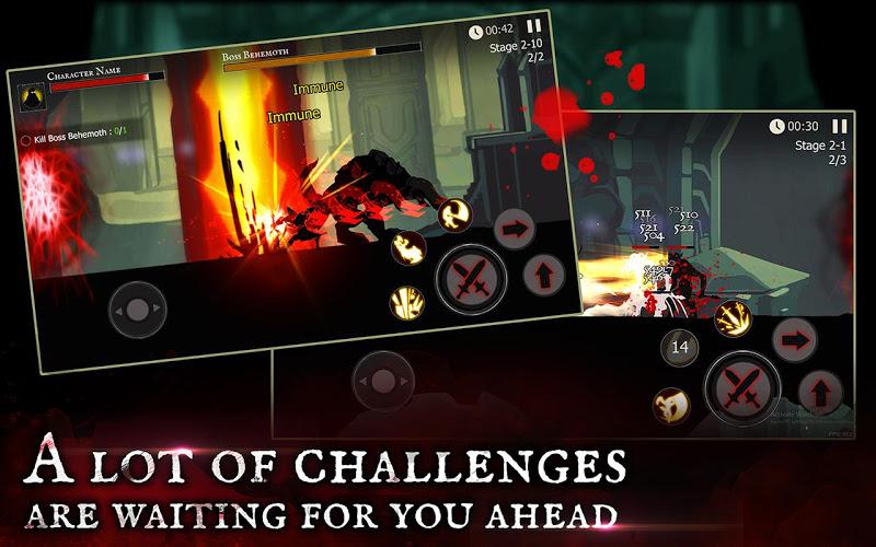 Shadow of Death: Dark Knight - Stickman Fighting Screenshot