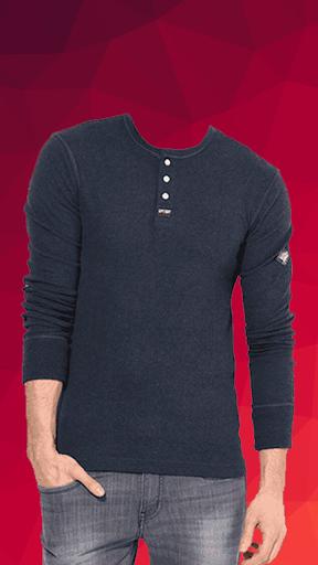 Man T-shirt Photo Suit screenshot 3