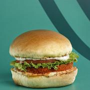 Crispy Buffalo Chick'n Burger