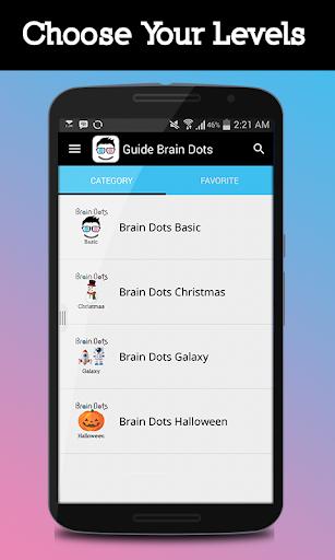 Guide Brain Dots