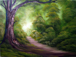 """Photo: 2302 Forest Edge. Oil on canvas. 18"""" x 24"""" $299.00"""