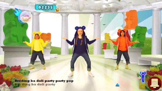 Dance Kids Gummy Bear Tutorial - náhled