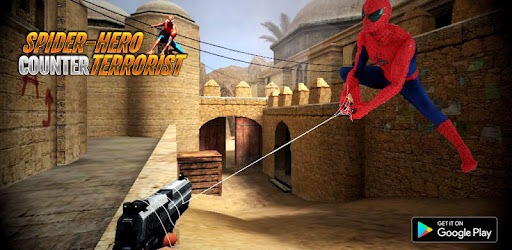 Spider Hero Counter Terrorist Superhero game (apk) free download for Android/PC/Windows screenshot