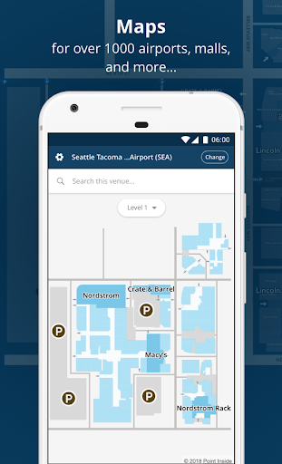 Point Inside Airports & Malls screenshot 1