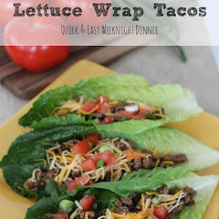 Lettuce Wrap Tacos With Homemade Taco Seasoning Mix