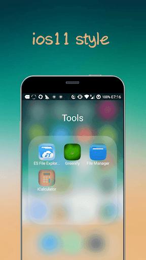 iLauncher X - new iOS theme for iphone x Apk 2