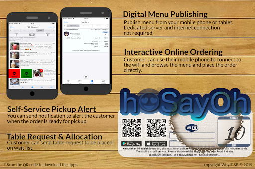 Restaurant Menu, Pager & Buzzer - F&B by WhyIT (Google Play
