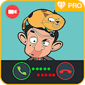 Mr. Funny Fake Call & Animated Videos icon