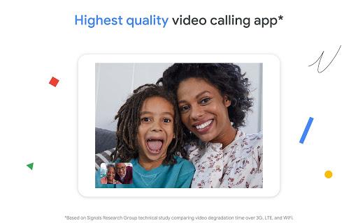 Google Duo - High Quality Video Calls 94.0.321256631.DR94_RC05 screenshots 6