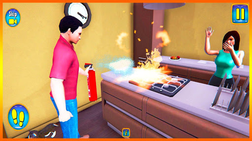 Happy Virtual Family Simulator - Family Dad Life screenshots 7