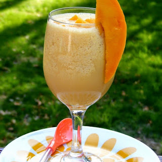 Mango Ice Blended Drink Recipes.