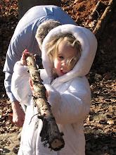 Photo: Emmy walking stick