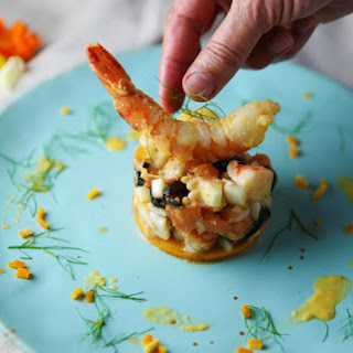 Shrimp Fennel Orange and Moroccan Olives Tartare Recipe