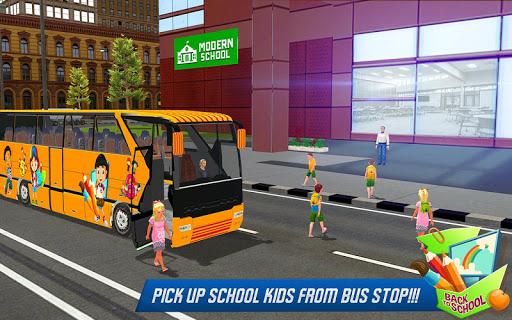 School Bus Driver Simulator 2018: City Fun Drive 1.0.2 screenshots 5