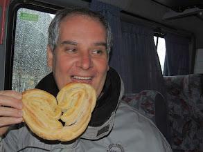 Photo: El día lluvioso y frío da apetito