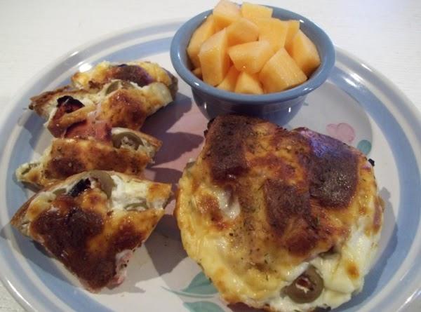 Ham & Cream Cheese Bagel Melt Recipe