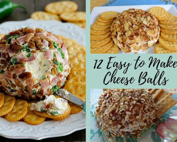 12 Easy to Make Cheese Balls
