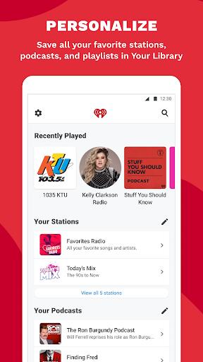 iHeartRadio: Radio, Podcasts & Music On Demand Screen Shot