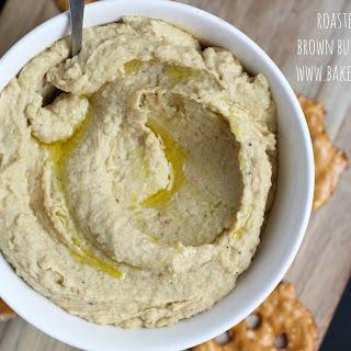 Roasted Garlic Brown Butter Hummus