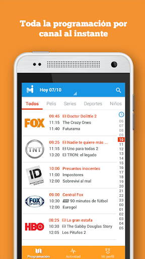 mi.tv - Programaciu00f3n de TV 1.0.363 screenshots 1