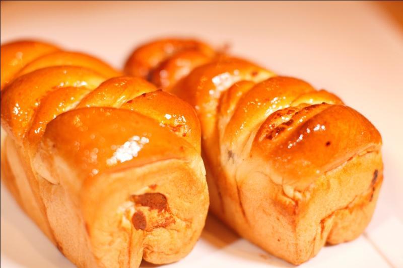 coffee choco macapuno bread