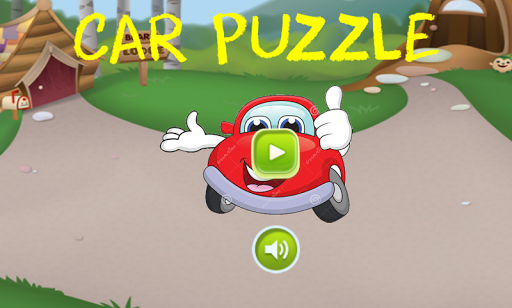 Car puzzle world for kids