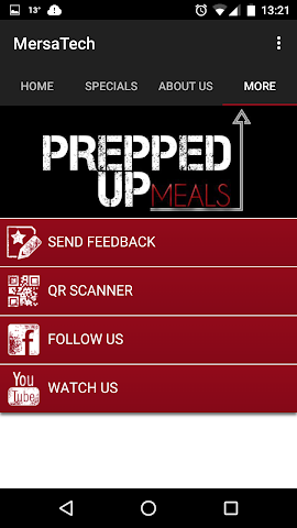 android Prepped Up Meals Screenshot 3