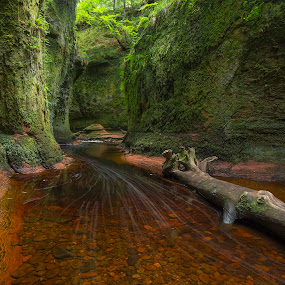 Devil's Pulpit  by Maria Alexandra Abrunhosa - Landscapes Caves & Formations ( scotland, pulpit, mountains, highlands, river )